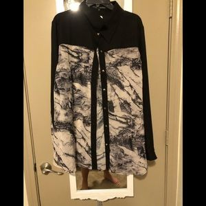 Tops - NWT button up top